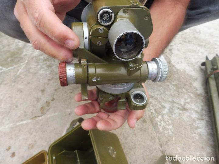 Militaria: Goniometro o aparato artilleria .tripode.calcula tiro de piezas ligeras ..con tripode.2 GM.. - Foto 3 - 115978515