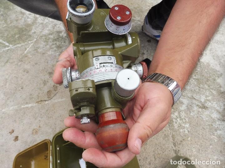 Militaria: Goniometro o aparato artilleria .tripode.calcula tiro de piezas ligeras ..con tripode.2 GM.. - Foto 4 - 115978515