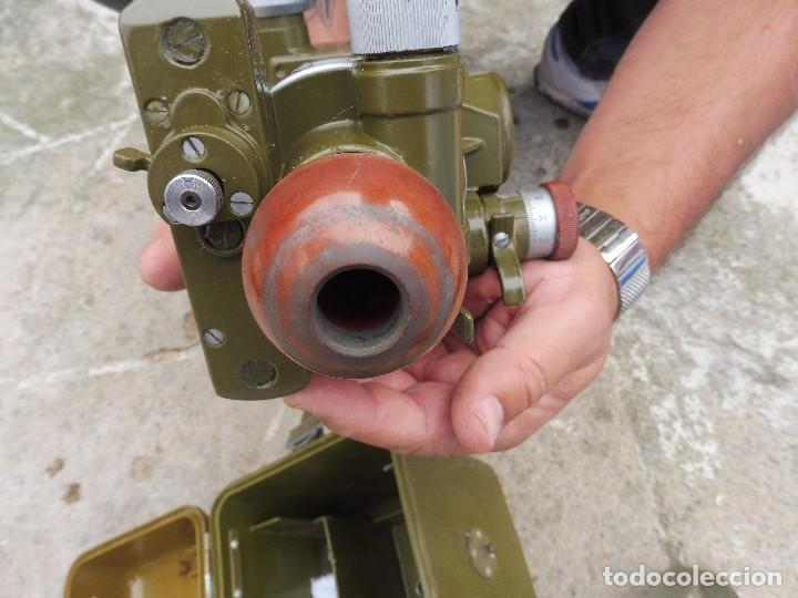 Militaria: Goniometro o aparato artilleria .tripode.calcula tiro de piezas ligeras ..con tripode.2 GM.. - Foto 5 - 115978515