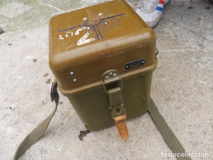 Militaria: Goniometro o aparato artilleria .tripode.calcula tiro de piezas ligeras ..con tripode.2 GM.. - Foto 6 - 115978515