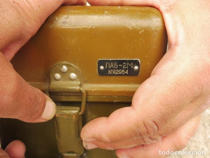 Militaria: Goniometro o aparato artilleria .tripode.calcula tiro de piezas ligeras ..con tripode.2 GM.. - Foto 7 - 115978515