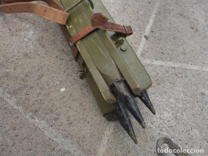 Militaria: Goniometro o aparato artilleria .tripode.calcula tiro de piezas ligeras ..con tripode.2 GM.. - Foto 8 - 115978515