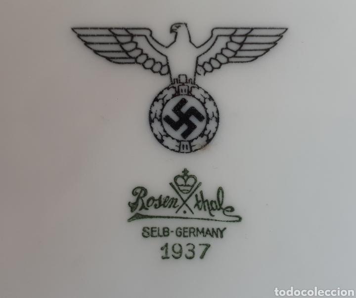 FUENTE VAJILLA PORCELANA NAZI (Militar - II Guerra Mundial)