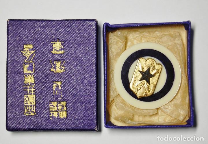 INSIGNIA JAPONESA DE RESERVISTA HONORARIO DE LA MARINA PARA OFICIALES Y JEFES.2ª GUERRA MUNDIAL. (Militar - II Guerra Mundial)