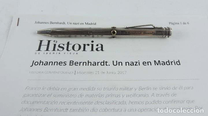 PORTAMINAS DE GENERAL DE LAS SS, JOHANNES EBERHARD FRANZ BERNHARDT, GUERRA CIVIL, II GUERRA MUNDIAL, (Militar - II Guerra Mundial)