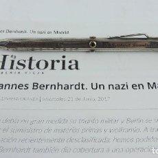 Militaria: PORTAMINAS DE GENERAL DE LAS SS, JOHANNES EBERHARD FRANZ BERNHARDT, GUERRA CIVIL, II GUERRA MUNDIAL,. Lote 205884991