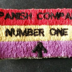 Militaria: SPANISH COMPANY. NUMBER ONE. REPUBLICANOS ESPAÑOLES EN II GUERRA. INGLATERRA. ENVIO INCLUIDO.. Lote 121361159
