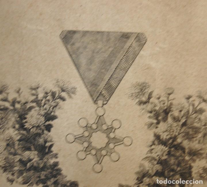 Militaria: RARO DOCUMENTO JAPONES.CONCESION ORDEN SAGRADO TESORO 8ª CLASE.11-IV-1941.TIPO PEQUEÑO. - Foto 8 - 122182015