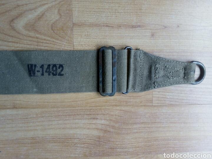 Militaria: CINTA para Musette o para bolsa de transporte de las tropas americanas en la WWII. Mochila 1942 - Foto 4 - 125212130