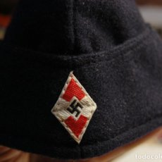 Militaria: PRECIOSA GORRA DE LAS JUVENTUDES HITLERIANAS DE ALEMANIA DEL AÑO 1941.SEGUNDA GUERRA MUNDIAL.LUJO. Lote 129552095