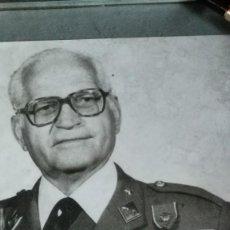Militaria: FOTO DE GENERAL EXCOMBATIENTE DE LA DIVISIÓN AZUL. Lote 132971894