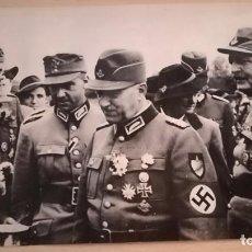 Militaria: ANTIGUA FOTOGRAFIA DE PRENSA KONSTANTIN HIERL, RAD , EPOCA 2ª GUERRA MUNDIAL. Lote 133373258