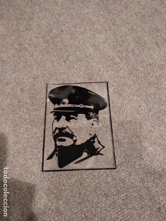 Militaria: Pegatina de Stalin URSS - Foto 2 - 138080354