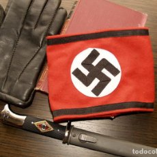 Militaria: BRAZALETE NAZI WAFFEN SS. Lote 143205542
