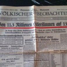 Militaria: VÖLKISCHER BEOBACHTER 1932. Lote 139838145