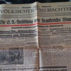 Militaria: VÖLKISCHER BEOBACHTER 1932. Lote 139839384