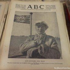 Militaria: ABC 6 DE DICIEMBRE DE 1939, 13 PAGINAS, WWII, LOS HEROES DEL MAR,ETC. Lote 143187494