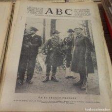 Militaria: ABC 7 DE DICIEMBRE DE 1939, 11 PAGINAS, WWII, EN EL FRENTE FRANCES,ETC. Lote 143187742