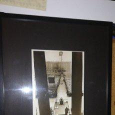 Militaria: ANTIGUA FOTOGRAFÍA ORIGINAL DE PRENSA NAZI SELLADA,DISCURSO DE ADOLF HITLER 1939. Lote 177402615