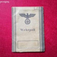 Militaria: WEHRPAB. Lote 143539838