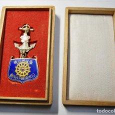 Militaria: MEDALLA JAPONESA PLATA MACIZA DE LOS FAREROS DE LA MARINA DE 1ª CLASE.2ª GUERRA MUNDIAL.. Lote 145625238