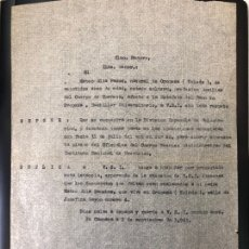 Militaria: DOCUMENTO DIVISIÓN AZUL. Lote 145932301