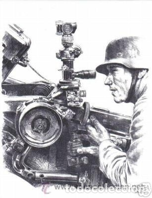 Militaria: Goniometro RblF 32 artillería alemana StuG III. Wehrmacht, Luftwaffe, Kriegsmarine, SS, Alemania 2ª - Foto 11 - 146280674