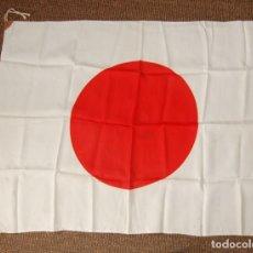 Militaria: BANDERA MILITAR JAPONESA DE LA SEGUNDA GUERRA MUNDIAL.ORIGINAL Y EN EXTRAORDINARIO ESTADO.. Lote 146372878