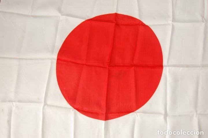 Militaria: BANDERA MILITAR JAPONESA DE LA SEGUNDA GUERRA MUNDIAL.ORIGINAL Y EN EXTRAORDINARIO ESTADO. - Foto 2 - 146372878
