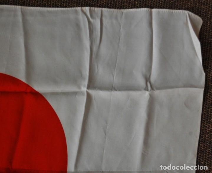 Militaria: BANDERA MILITAR JAPONESA DE LA SEGUNDA GUERRA MUNDIAL.ORIGINAL Y EN EXTRAORDINARIO ESTADO. - Foto 6 - 146372878