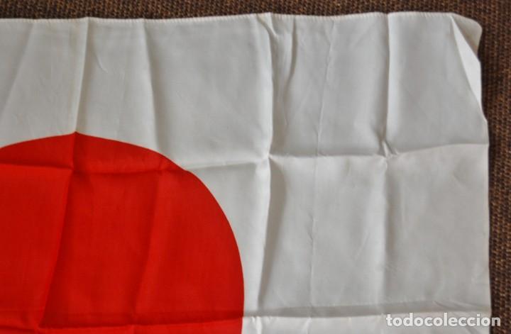 Militaria: BANDERA MILITAR JAPONESA DE LA SEGUNDA GUERRA MUNDIAL.ORIGINAL Y EN EXTRAORDINARIO ESTADO. - Foto 7 - 146372878