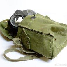 Militaria: 1943 - MÁSCARA ANTIGÁS CON SU MACUTO - SEGUNDA GUERRA MUNDIAL - FECHADO. Lote 147210782