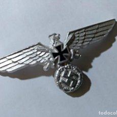Militaria: AGUILA DE GORRA DE EXCOMBATIENTES. Lote 148128886