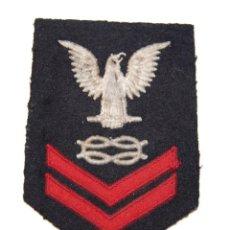 Militaria: DISTINTIVO DE HOMBRO DE SUBOFICIAL DE 2ª CLASE DE LA MARINA DE ESTADOS UNIDOS.2ª GUERRA MUNDIAL.. Lote 149213698