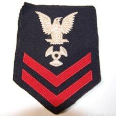 Militaria: DISTINTIVO DE HOMBRO DE AYUDANTE DE MAQUINISTA DE 2ª CLASE.MARINA ESTADOS UNIDOS.2ª GUERRA MUNDIAL.. Lote 149215730