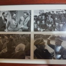 Militaria: 4 FOTOGRAFÍAS DE ADOLF HITLER ENMARCADAS. Lote 149263748