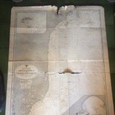 Military - Nazi Carta Nautica Nazi de Brasil - 150104809