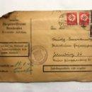 Militaria: SEGUNDA GUERRA MUNDIAL. SOBRE CIRCULADO BERNHAUSEN (A.1942). Lote 151655588