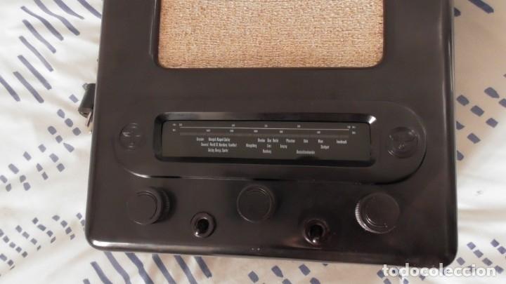 Militaria: Radio alemana VOLKSEMPLÄNGER 301 DYN 1939. PERFECTO ESTADO DE CONSERVACIÓN. ORIGINAL TERCER REICH - Foto 15 - 152184562