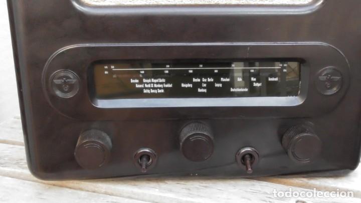 Militaria: Radio alemana VOLKSEMPLÄNGER 301 DYN 1939. PERFECTO ESTADO DE CONSERVACIÓN. ORIGINAL TERCER REICH - Foto 21 - 152184562