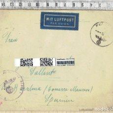 Militaria - CARTA NAZI MIT LUFTPOST - 1943. - 152228346