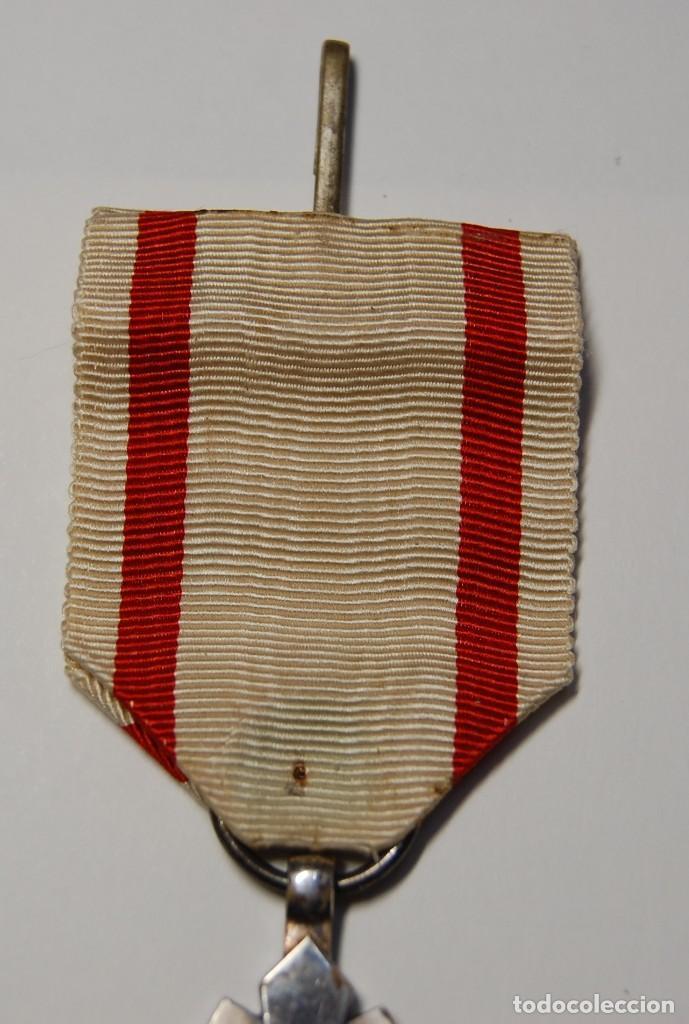Militaria: IMPERIO JAPONES DE MANCHUKUO.MEDALLA DE PLATA.ORDEN DE AUSPICIOUS CLOUDS 8ª CLASE.2ª GUERRA MUNDIAL. - Foto 3 - 152762406