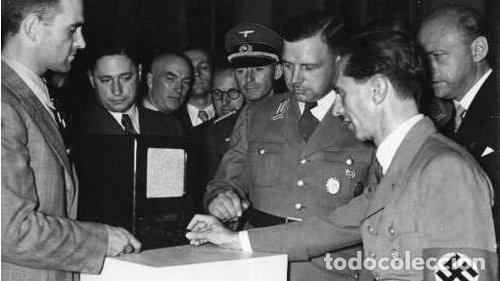 Militaria: Radio alemana VOLKSEMPLÄNGER 301 DYN 1939. PERFECTO ESTADO DE CONSERVACIÓN. ORIGINAL TERCER REICH - Foto 33 - 152184562