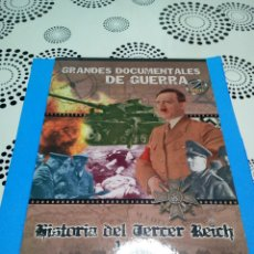 Militaria: HISTORIA DEL TERCER REICH 1 Y 2 DVD DOCUMENTAL BELICO. Lote 153934358