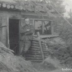 Militaria: SEGUNDA GUERRA MUNDIAL ALEMANES FRENTE RUSO LOTE 10 FOTOGRAFIAS. Lote 155545846