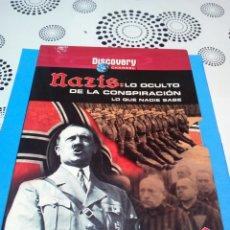 Militaria: NAZIS: LO OCULTO DE LA CONSPIRACION LO QUE NADIE SAVE 2 DVD. Lote 156574176