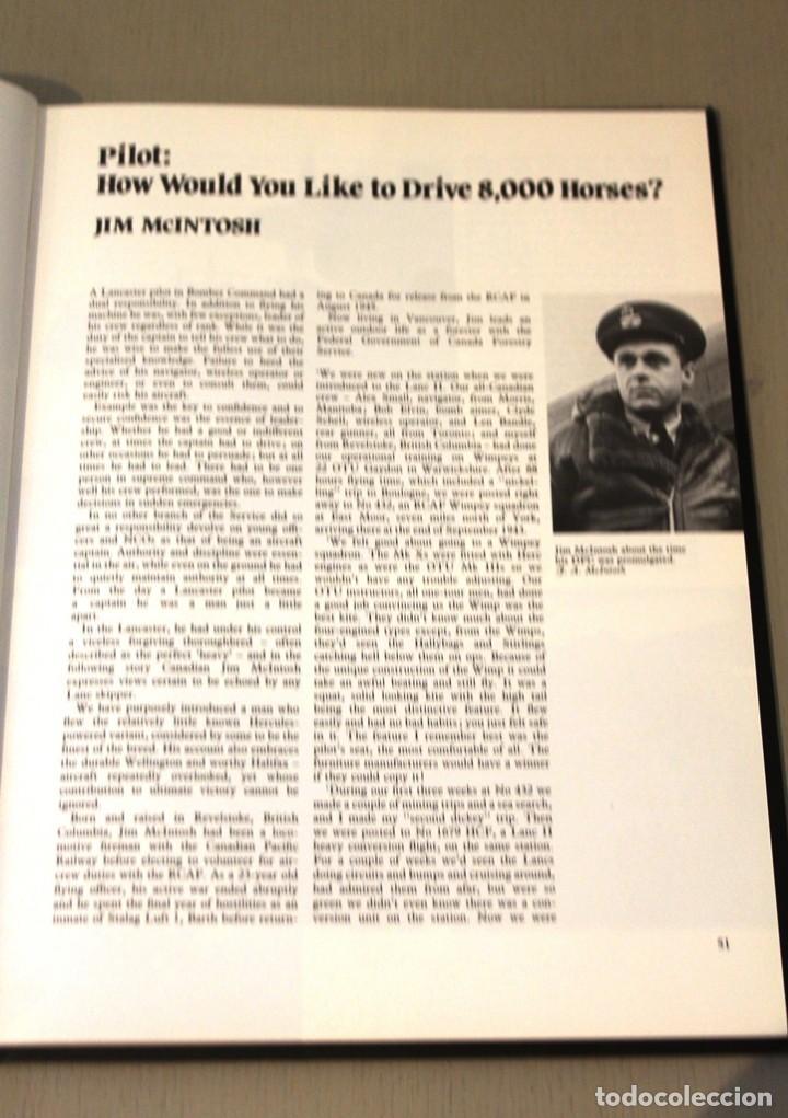 Militaria: AVION BOMBARDERO LANCASTER AT WAR 2 - 2ª GUERRA MUNDIAL - GARBETT AND GOULDING - INTERESANTE LIBRO - Foto 8 - 156690038