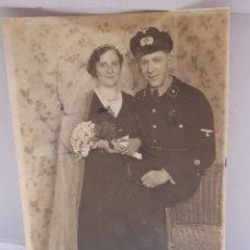 Militaria: FOTOGRAFÍA ANTIGUA MILITAR NAZI ORIGINAL SELLADA. Lote 157830586