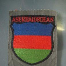 Militaria: ESCUDO BEVO SHIELD ÄRMELSCHILD ASERBAIDSCHAN WEHRMACHT. Lote 158849946