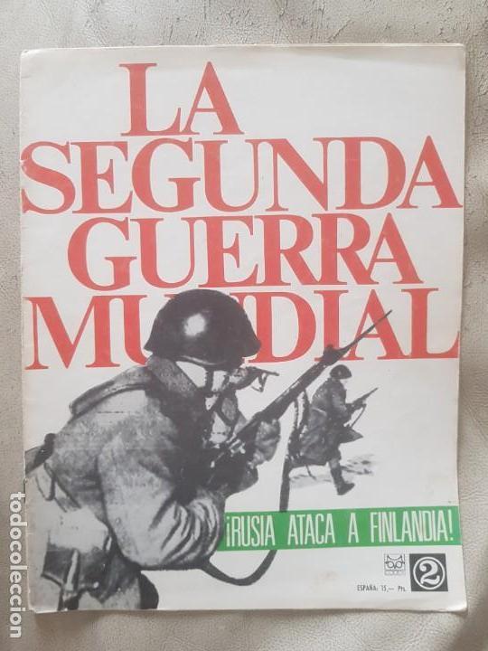 REVISTA LA SEGUNDA GUERRA MUNDIAL Nº 2 RUSIA ATACA A FINLANDIA. CODEX (Militar - II Guerra Mundial)